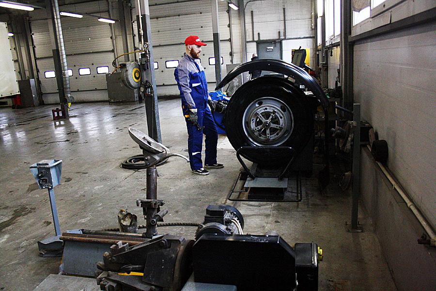 балансировка грузовых колес