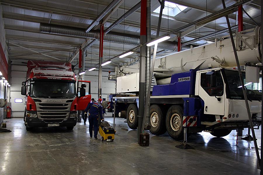шиномонтаж грузовой