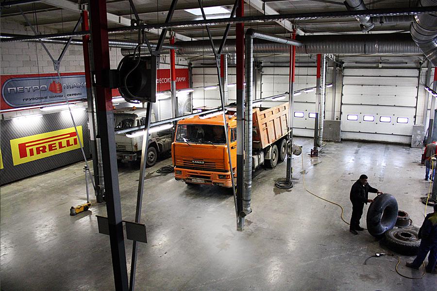 шиномонтаж грузовой шушары