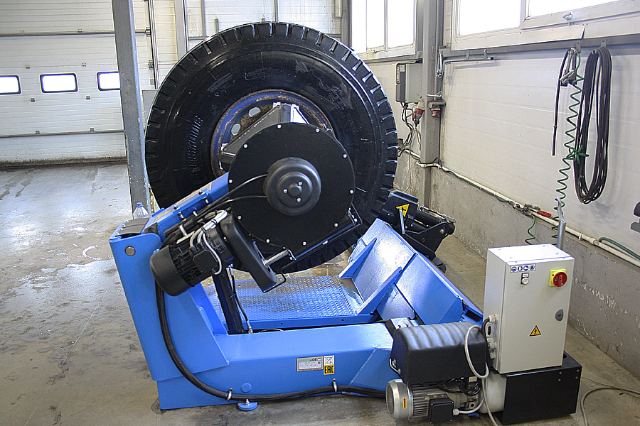 ремонт индустриальных шин
